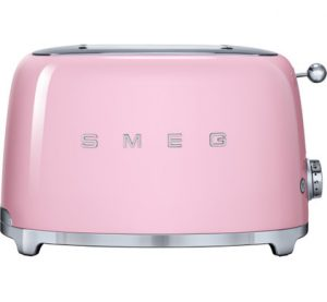 Smeg broodrooster TSF01 roze