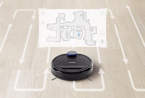 Ecovacs Deebot OZMO930 mapping