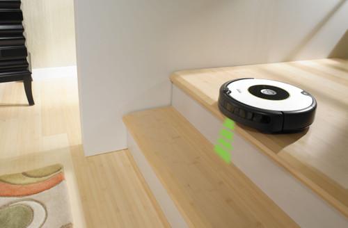 iRobot Roomba 605 afgronddetectie