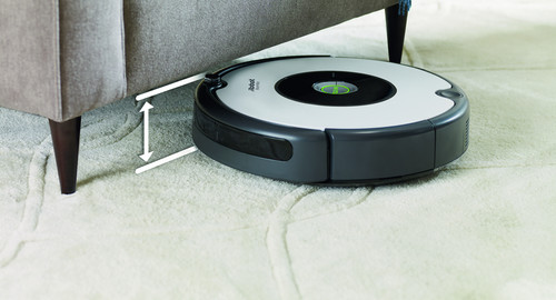iRobot Roomba 605 hoogte