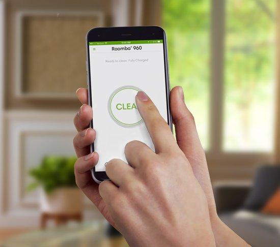 iRobot Roomba 960 app bediening