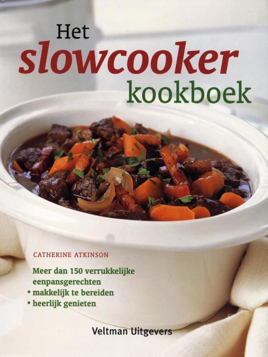 Het slowcooker kookboek 1