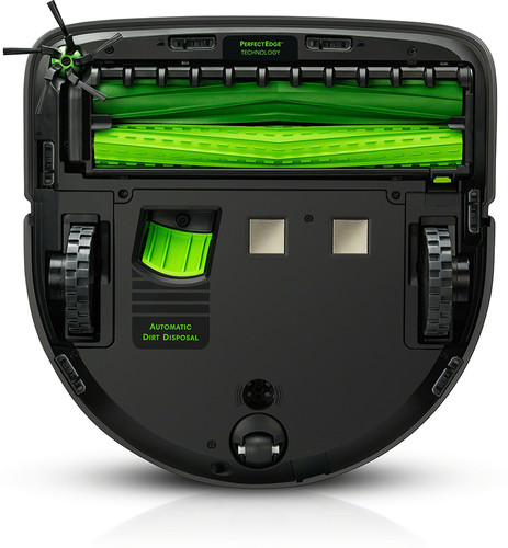 iRobot Roomba s9+ onderkant