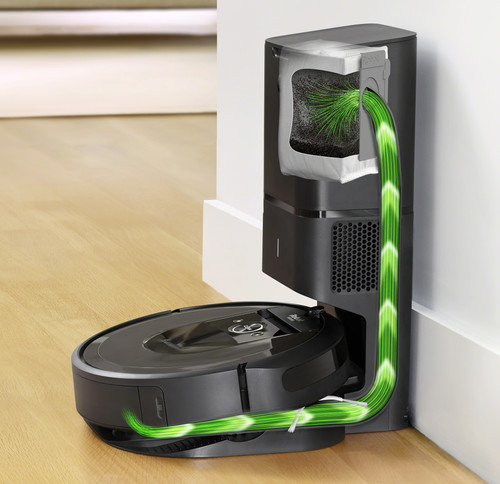 iRobot Roomba i7+ vuilafvoer